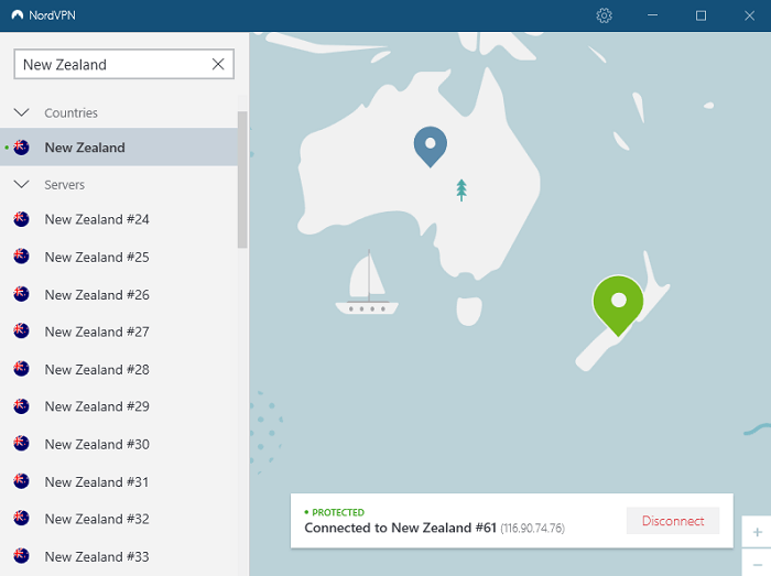 nordvpn-server-of-newzealand-after-connecting