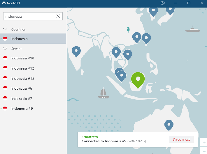 nordvpn-server-in-indonesia-before-connecting
